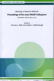 Advising on research methods proceedings of the 2007 KNAW colloquium, Ebook