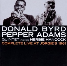 COMPLETE LIVE AT JORGIE'S BYRD, DONALD & PEPPER ADA, CD