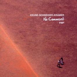 NO COMMENT Audio CD, KEUNE/SCHNEIDER/KRAMER, CD