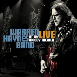 LIVE AT THE MOODY..+ DVD .. THEATER WARREN HAYNES, CD
