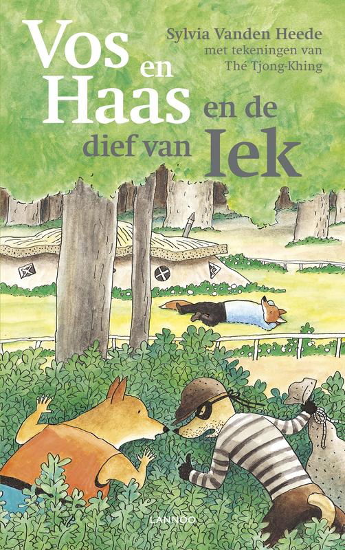 Vos en Haas en de dief van Iek Vanden Heede, Sylvia, Ebook