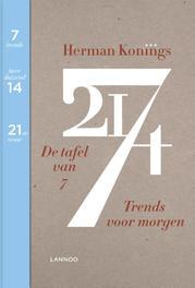 De tafel van 7 trends voor morgen, Konings, Herman, Ebook