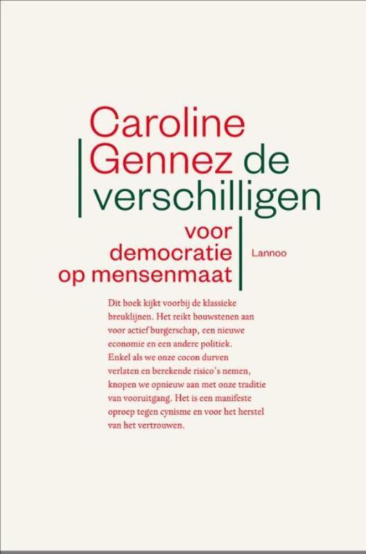 De verschilligen voor democratie op mensenmaat, Gennez, Caroline, Ebook
