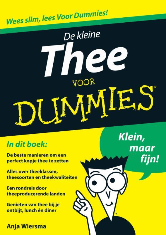 De kleine thee voor dummies Wiersma, Anja, Ebook