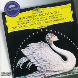 BALLET SUITES -BERLINER PHILHARMONIC/ROSTROPOVICH Audio CD, P.I. TCHAIKOVSKY, CD