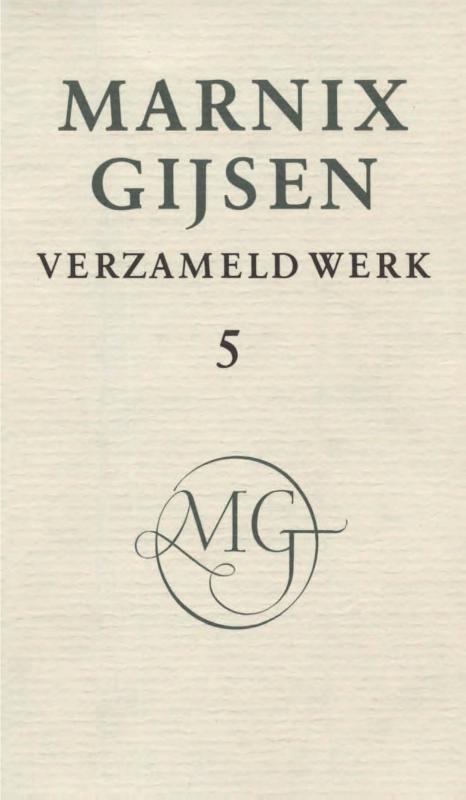 Verzameld werk / deel V Gijsen, M, Ebook
