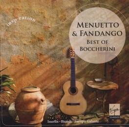 MENUETTO & FANDANGO BEST OF // PINARDI/BIONDI/ISSERLIS/KANGAS/OCO L. BOCCHERINI, CD