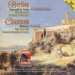 HAROLD IN ITALY/POEME USSR TV & RADIO LARGE SYMPH.ORCH. MOSCOW/FEDOSEYEV Audio CD, BERLIOZ/CHAUSSON, CD