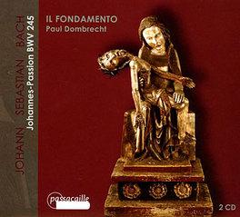 JOHANNES PASSION HONEYMAN/VAN MECHELEN/DE REYGHERE//DOMBRECHT, P. Audio CD, J.S. BACH, CD