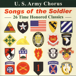 SONGS OF THE SOLDIER U.S. ARMY CHORUS, CD
