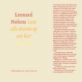 Laat alle deuren op een kier verzamelde gedichten, Nolens, Leonard, Ebook