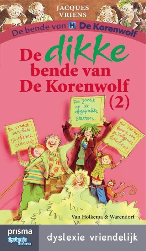 De dikke bende van de Korenwolf / 2 dyslexie vriendelijk, Vriens, Jacques, Ebook