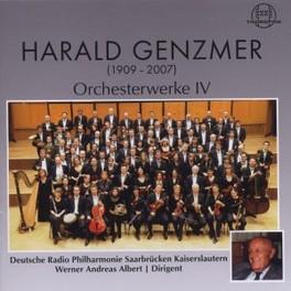 ORCHESTERWERKE IV DEUTSCHE RADIO P.O./WERNER ANDREAS ALBERT H. GENZMER, CD