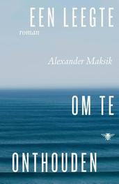 Een leegte om te onthouden Maksik, Alexander, Ebook