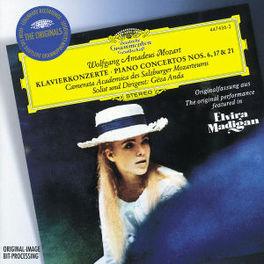 PIANOCONCERT NO.6, 17 AND -GEZA ANDA,/CAMERATA ACADEMY Audio CD, W.A. MOZART, CD
