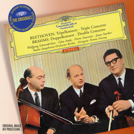 DOUBLE CONCERTO/TRIPLE.. FERENC FRICSAY/SCHNEIDERHAN/STARKER/ANDA/FOURNIER Audio CD, BRAHMS/BEETHOVEN, CD