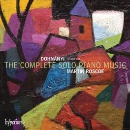 COMPLETE SOLO PIANO MUSIC M.ROSCOE E. DOHNANYI, CD
