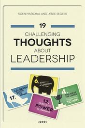 19 challenging thoughts about leadership Marichal, Koen, Ebook