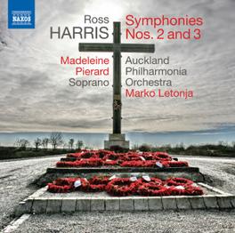 SYMPHONIES NO.2 & 3 AUCKLAND P.O. R. HARRIS, CD