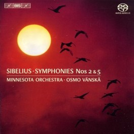 SYMPHONIES NO.2 & 5 MINNESOTA ORCHESTRA/OSMO VANSKA J. SIBELIUS, CD