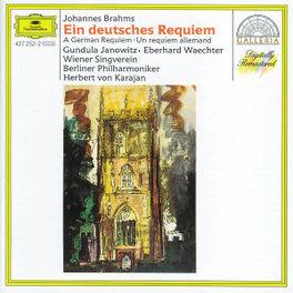 EIN DEUTSCHES REQUIEM JANOWITZ/BP/KARAJAN Audio CD, J. BRAHMS, CD