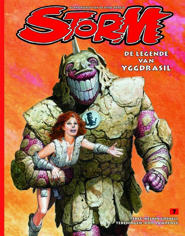 Storm: 7 De legende van Yggdrasil de kronieken van de diepe wereld, LAWRENCE, DON, GOSNELL, KELVIN, Paperback