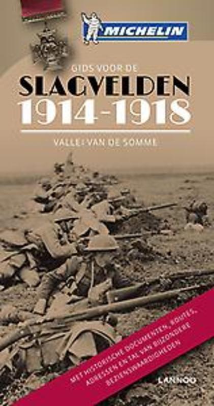 Gids voor de slagvelden 1914-1918  vallei van de Somme, Paperback