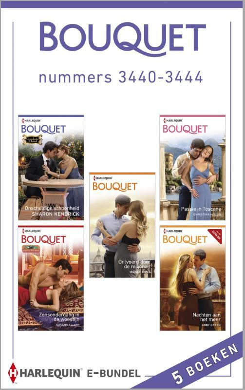 Bouquet e-bundel nummers 3440-3444 (5-in-1) Kendrick, Sharon, Ebook