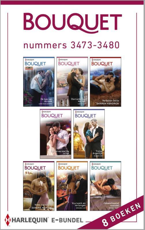 Bouquet e-bundel nummers 3473-3480 (8-in-1) Harris, Lynn Raye, Ebook