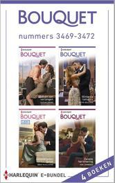 Bouquet e-bundel nummers 3469-3472 Crews, Caitlin, Ebook