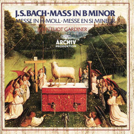 MASS IN B MINOR MONTEVERDI CHOIR/ENG.BAROQUE/GARDINER Audio CD, J.S. BACH, CD