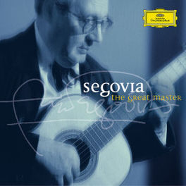 GREAT MASTER WORKS BY DOWLAND/VILLA-LOBOS/TANSMAN/PONCE Audio CD, ANDRES SEGOVIA, CD
