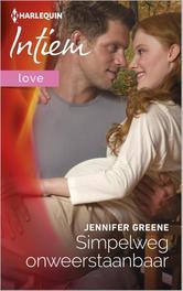 Simpelweg onweerstaanbaar Greene, Jennifer, Ebook