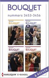Bouquet e-bundel nummers 3453-3456 (4-in-1) Een spannend weerzien ; Vijand of minnaar ; In zijn macht ; Onweerstaanbaar spel, Mortimer, Carole, Ebook