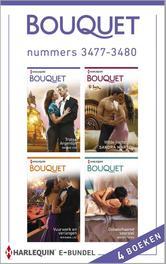 Bouquet e-bundel nummers 3477-3480 (4-in-1) Trotse Argentijn ; Wilde hartstocht ; Vuurwerk en verlangen ; Onbeschaamd voorstel, Cox, Maggie, Ebook