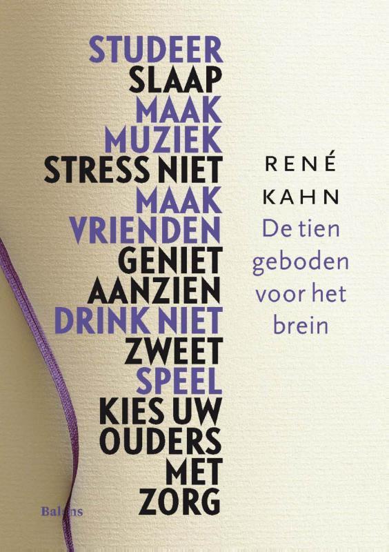 De tien geboden voor het brein Kahn, Rene, Ebook