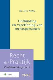 Ontbinding en vereffening van rechtspersonen Nethe, M.Y., Ebook