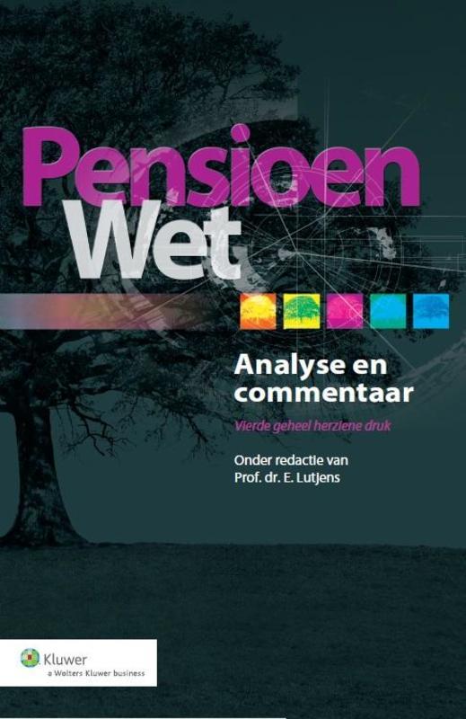 Pensioenwet analyse en commentaar, Ebook