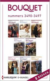 Bouquet e-bundel nummers 3490-3497 (8-in-1) Morgan, Sarah, Ebook