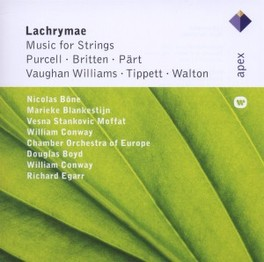 LACHRYMAE:MUSIC FOR STRIN CHAMBER ORCHESTRA OF EURO, CD