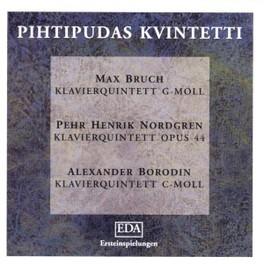 KLAVIERQUINTETTE PIHTIPUDAS QUINTET BRUCH/NORDGREN/BORODIN, CD