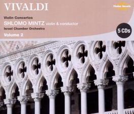 VIOLINKONZERTE VOL.2 ISRAEL CHAMBER ORCHESTRA/SHLOMO MINTZ Audio CD, A. VIVALDI, CD