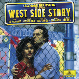 WEST SIDE STORY KIRI TE KANAWA/JOSE CARRERAS/TATIANA TROYANOS/KURT OLLM Audio CD, L. BERNSTEIN, CD
