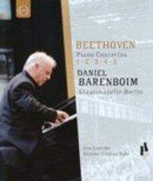Daniel / Staatskapelle B Barenboim - Piano Concertos 1-5