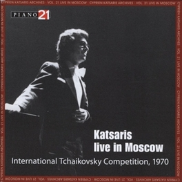 LIVE IN MOSCOW WORKS BY CHOPIN/LISZT/RACHMANINOV Audio CD, CYPRIEN KATSARIS, CD