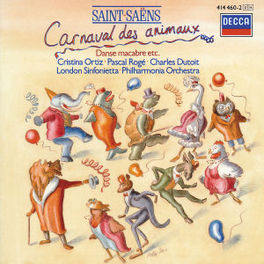 CARNIVAL OF THE ANIMALS LONDON SINFONIETTA/PO/DUTOIT/ORTIZ/ROGE Audio CD, SAINT-SAENS, C., CD