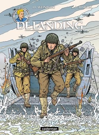 LEFRANC, REPORTAGES VAN 01. DE LANDING