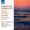 ZIMBALIST STRING QUARTETS FINE ARTS QUARTET