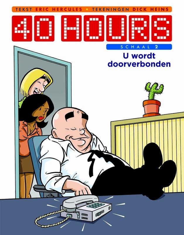 U wordt doorverbonden 40 Hours, Hercules, Eric, Paperback