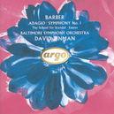 ADAGIO SYMPHONY NO.1 W/DAVID ZINMAN, BALTIMORE SYMPH. ORCHESTRA